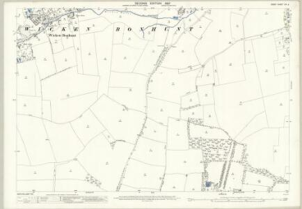 Essex (1st Ed/Rev 1862-96) XIII.4 (includes: Newport; Quendon and Rickling; Wicken Bonhunt) - 25 Inch Map