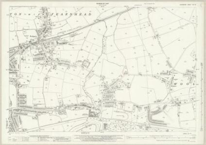 Lancashire CIX.14 (includes: Croft; Poulton With Fearnhead; Warrington; Woolston) - 25 Inch Map