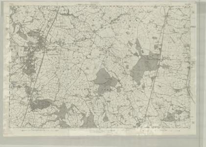 Cheshire XXVII - OS Six-Inch Map