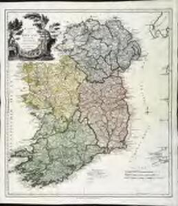 Karte von Ireland