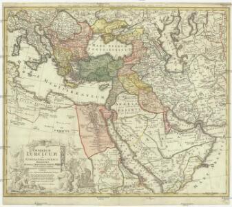 Imperium Turcium in Europa, Asia et Africa, regiones proprias, tributarias, clientelaresq[ue]