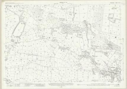 Derbyshire XVI.7 (includes: Eyam; Foolow) - 25 Inch Map