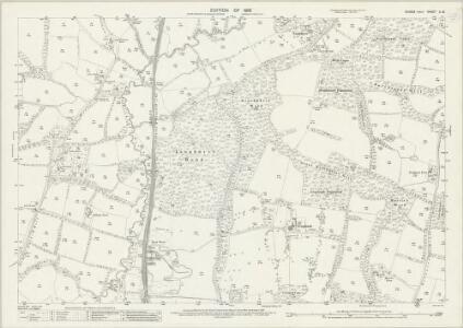 Sussex II.16 (includes: Horsham Rural; Rusper; Warnham) - 25 Inch Map