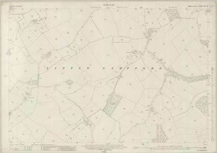 Essex (New Series 1913-) n XIV.12 (includes: Great Sampford; Little Sampford) - 25 Inch Map