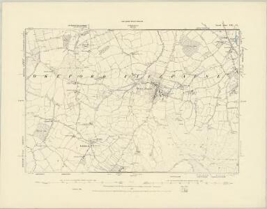 Dorset XIII.SW - OS Six-Inch Map