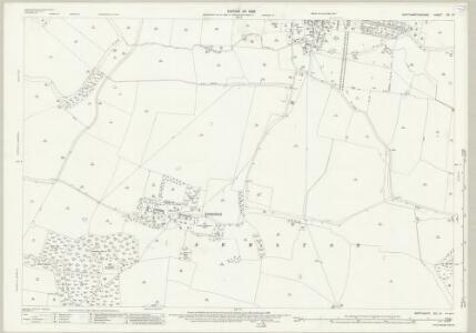 Northamptonshire XIX.10 (includes: Barnwell; Oundle; Polebrook) - 25 Inch Map