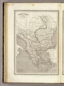 Turquie D'Europe et Grece.