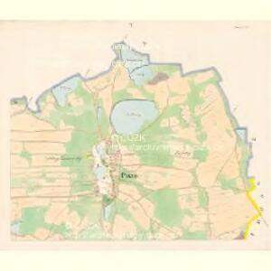 Pistin - c5785-1-005 - Kaiserpflichtexemplar der Landkarten des stabilen Katasters