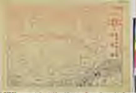 京都名所旧跡略図一覧