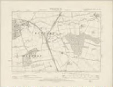 Northamptonshire XXV.NW - OS Six-Inch Map