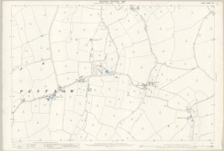 Essex (1st Ed/Rev 1862-96) VI.5 (includes: Foxearth; Pentlow) - 25 Inch Map
