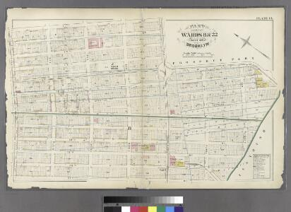 Plate 13: Bounded by 11th Street, Ninth Avenue, 15th Street, Eleventh Avenue, 19th Street, Tenth Avenue, 21st Street and Fifth Avenue.