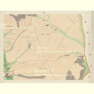 Blauda (Bludoff) - m0118-1-005 - Kaiserpflichtexemplar der Landkarten des stabilen Katasters
