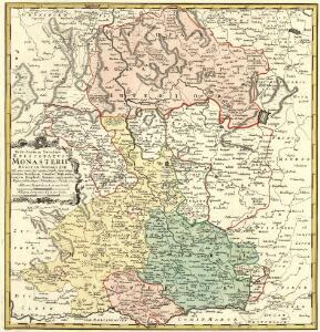 Territorium Seculare Episcopatvs Monasterii Mvnster Germanis dicti