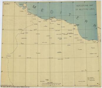 Western Libya, Aerodrome Map