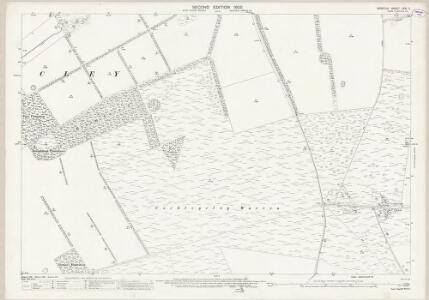 Norfolk LXXI.2 (includes: Cockley Cley; Great Cressingham; North Pickenham; South Pickenham) - 25 Inch Map