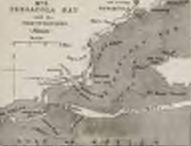 Strategic War Points of the United States no.5: Pensacola Bay and its fortifications