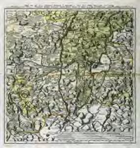 Pars VIII. sistit partem dicast.ii Monach: et Burchh: ex utraqué parte Oeni merid. versus, cum dÿnastia Burgrain, Hohen=Waldeck; archi=episc: Salisb: et finibus c: Tir