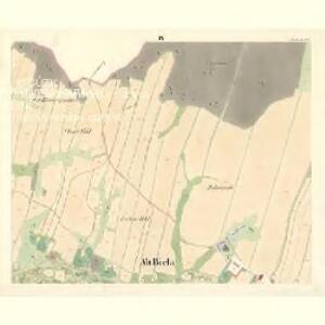 Alt Biela (Stara Biela) - m2836-1-004 - Kaiserpflichtexemplar der Landkarten des stabilen Katasters