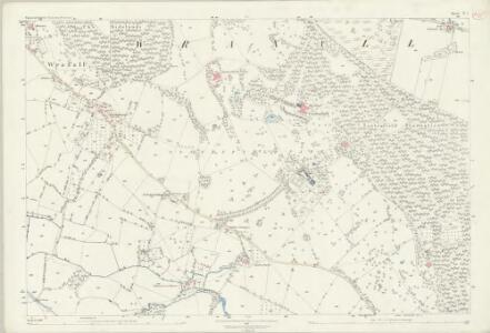 Somerset V.7 (includes: Backwell; Flax Bourton; Wraxall) - 25 Inch Map