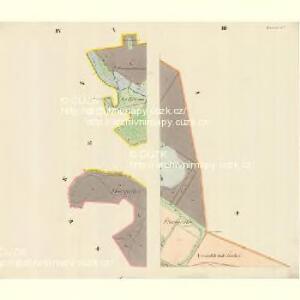 Lautsch (Mlats) - m1827-1-003 - Kaiserpflichtexemplar der Landkarten des stabilen Katasters