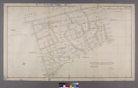 Map or Plan of Section 23. [Bounded by Spuyten Duvil Road, Palisade Avenue, W. 248th Street, Sycamore Avenue,W. 249th Street, Independence Avenue, W. 250th Street, Riverdale Avenue and W. 236th Street.]; Maps or plans and profiles, with field notes and explanatory remarks, showing the location, width, grades, and class of streets, roads, avenues, public squares and places, located and laid out by the Commissioner of Street Improvements of the 23rd and 24th wards of the city of New York: under authority of Chapter 545 of the laws of 1890.
