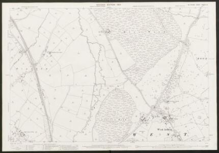 Wiltshire XXXVIII.12 (includes: North Bradley; Steeple Ashton; Trowbridge; West Ashton) - 25 Inch Map