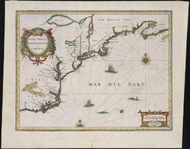 Nova Anglia, Novum Belgium et Virginia