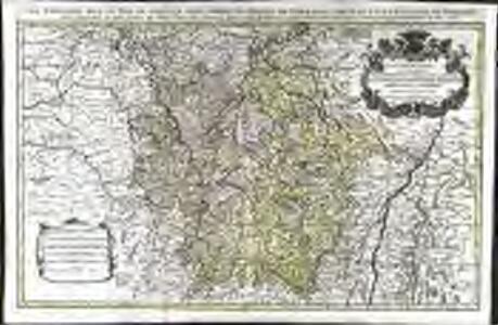 La Lorraine, qui comprend les duchés de Lorraine et de Bar et les balliages des eveschés et des villes de Metz, Toul, et Verdun