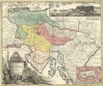 Tabula Ducatus Carnioliae Vindorum Marchiae et Histriae ex mente Illustr. mi quondam