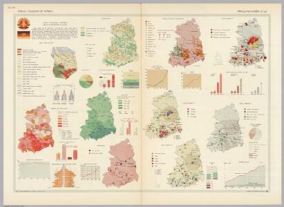 German Democratic Republic.  Pergamon World Atlas.
