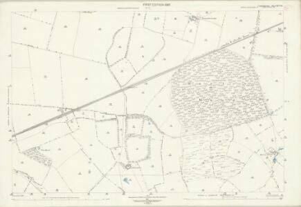Cambridgeshire XLV.15 (includes: East Hatley; Hatley St George; Little Gransden; Longstowe) - 25 Inch Map