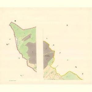 Nedaschowa Lhotta - m1941-1-002 - Kaiserpflichtexemplar der Landkarten des stabilen Katasters