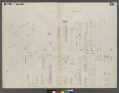 Plate 26: Map bounded by Schermerhorn Street, Powers Street, Fulton Avenue, Lafayette Street, Raymond Street, 4th Avenue, Wyckoff Street, Hoyt Street.