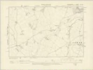 Staffordshire LXI.SE - OS Six-Inch Map