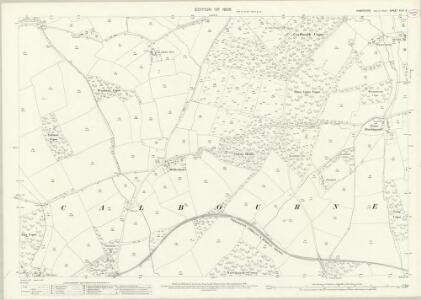Hampshire and Isle of Wight XCIV.3 (includes: Calbourne) - 25 Inch Map