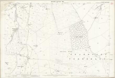 Cheshire XXIX.3 (includes: Disley; Lyme Handley; Whaley Bridge) - 25 Inch Map