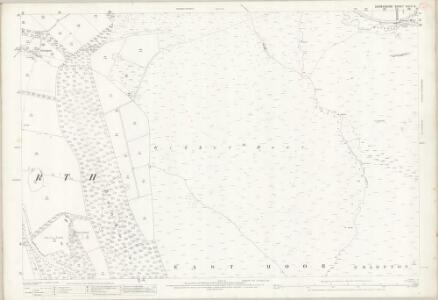 Derbyshire XXIV.6 (includes: Baslow and Bubnell; Brampton; Chatsworth) - 25 Inch Map