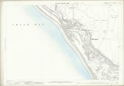 Hampshire and Isle of Wight C.1 (includes: Chale; Niton) - 25 Inch Map
