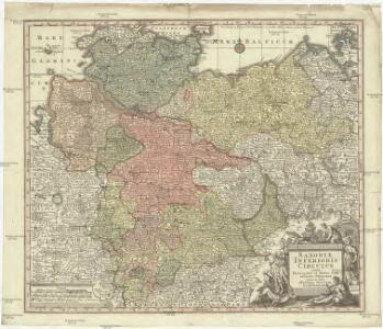 Saxoniae inferioris circulos juxta principatus et status suos accurate delineatus