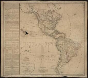 Carte générale de l'Amérique divisée en ses principaux Etats