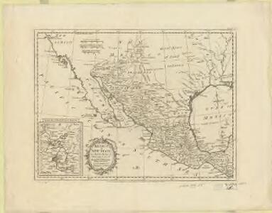 Mexico, or, New Spain : in which the motions of Cortes may be traced