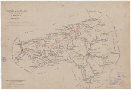 Mapa planimètric de Calders