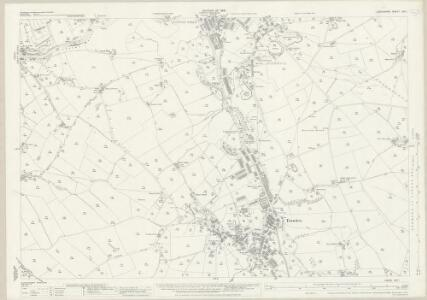 Lancashire LVII.1 (includes: Colne; Nelson; Trawden) - 25 Inch Map