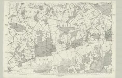 Surrey XXIV - OS Six-Inch Map
