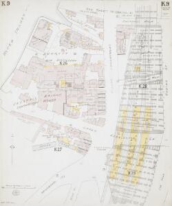 Insurance Plan of London South West District Vol. K: sheet 9