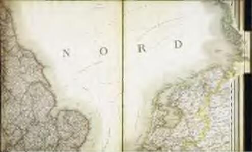 Carte des iles britanniques ou Royaume-Uni de la Grande Bretagne et d'Irlande, 4