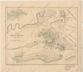 Plán  města Efesu podle Wooda
