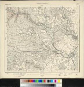 Meßtischblatt [8016] : Donaueschingen, 1921