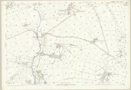 Somerset XLVI.11 (includes: Cutcombe; Exton; Winsford) - 25 Inch Map